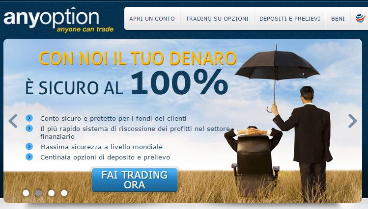 Piattaforma trading sicure